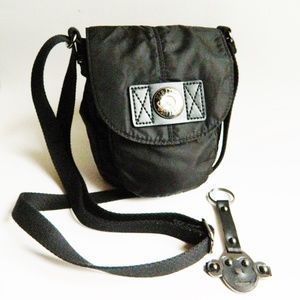 Kipling Black Crossbody and Keychain